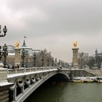 Paris, France, Pont Alexandre III
