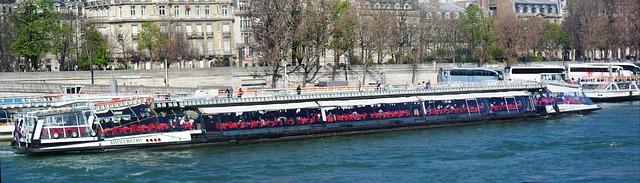 Seine River Boat